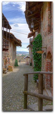 ITALY - Ricetto di Candelo Biella Piemonte