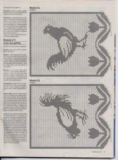 "ru / Mongia - Альбом ""Filet Crochet for Cross Stitch Crochet Curtain Pattern, Crochet Curtains, Crochet Tablecloth, Crochet Doilies, Crochet Birds, Thread Crochet, Easy Crochet, Crochet Stitches, Cross Stitch Bird"