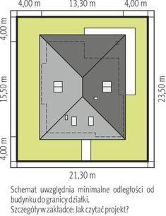 DOM.PL™ - Projekt domu AC Liv 3 CE - DOM AF2-79 - gotowy koszt budowy House Layout Plans, Tiny House Plans, House Layouts, One Storey House, Zen House, Indian House Plans, Modern Bungalow House, Architectural House Plans, Brick Architecture