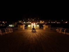 Cromer pier by night
