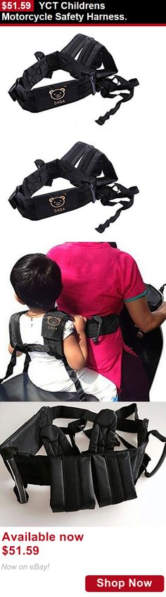 Toddler Safety Harnesses: Yct Childrens Motorcycle Safety Harness. BUY IT NOW ONLY: $51.59