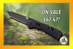The SOG Trident Knife is on sale for $47.47!