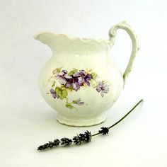 Antique Pitcher Porcelain