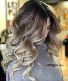 Are you going to balayage hair for the first time and know nothing about this technique? We've gathered everything you need to know about balayage, check! Brown Ombre Hair, Ombre Hair Color, Hair Color Balayage, Brown Hair Colors, Hair Highlights, Dark Balayage, Short Balayage, Long Thin Hair, Braut Make-up