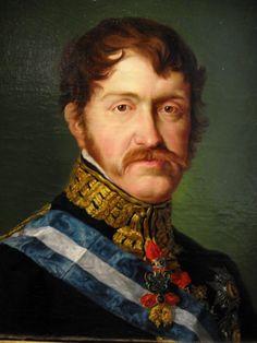 Retrato del infante Carlos V de España, el conde de Molina (1788-1855)
