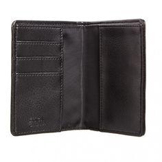 Georgio RFID Grey Vegan Passport Billfold Wallet - Luca Chiara - Designers