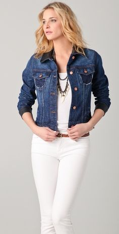 oh.must.have. J Brand denim jacket. worn with EVERYthing. this spring and summer.