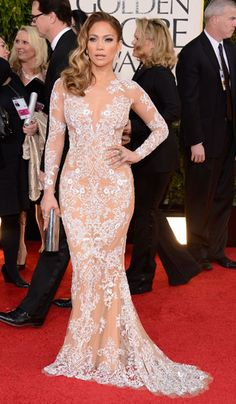 Golden Globes 2013: The Best Dressed Stars Live From The Red Carpet | Grazia Fashion