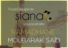Ramadan Moubarak à tous