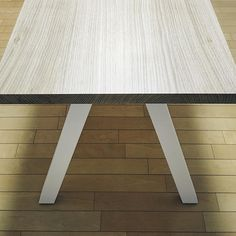 #treeforte #furnituredesign #ordermade #table #whiteoak #whitelegs White Oak, Landscape Design, Furniture Design, Dining Table, Home Decor, Decoration Home, Room Decor, Landscape Designs, Dinner Table