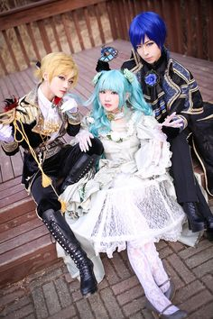 cantarella cosplay | Vocaloid : Cantarella ~grace edition~ - Kaito by miyoaldy…