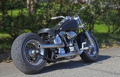 Exiled Harley Fatboy | Bobber Inspiration - Bobbers and Custom Motorcycles | highoutput600 September 2014