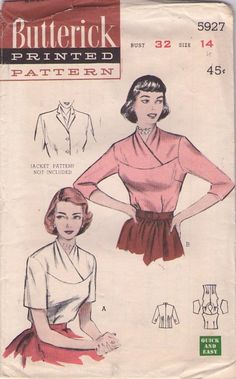 Butterick 5927 blouse