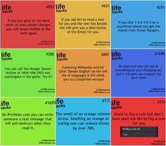 Life hacks Life Hacks List, 1000 Life Hacks, Useful Life Hacks, Simple Life Hacks, Life Tips, Hacks Diy, Home Hacks, Making Life Easier, School Hacks