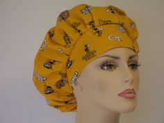 Bouffant Medical Scrub Hat  University of Georgia by SilverCaps