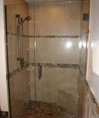 frameless brushed nickel shower door - Google Search