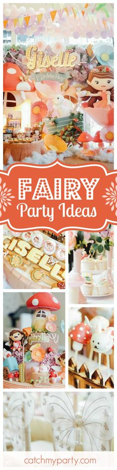 You have to take a look at this magical Fairy birthday party. The birthday cake is wonderful. Just so pretty!! See more party ideas and share yours at CatchMyParty.com