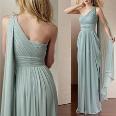 Prom Gown,One Shoulder Prom Dresses,One Shoulder Evening Gowns,Simple