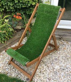 Artificial Grass Deckchair