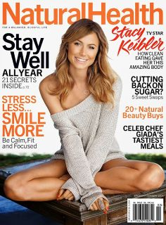 Magazines - The Charmer Pages : Stacy Keibler for Natural Health January/February 2014