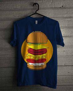 MockUp T-Shirt Burger
