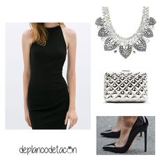 Colgantes para un vestido negro
