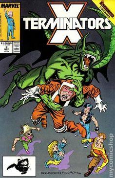 X-Terminators (1988) 2 Marvel Comics Modern Age Comic book covers Super Heroes VilliansX-men Mutants