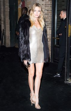 All Your Favorite Celebs Are Wearing This Night-Out Fabric via @WhoWhatWear