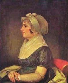 Jacob Eichholtz (American Painter, 1776-1842) Maria Schaum, circa 1810