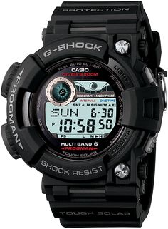 G-Shock Master of G GWF1000-1 This is more for Diving with Tide data, moon phases, and Dive timer