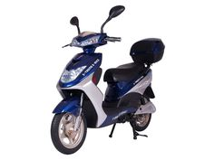 X-Treme - XB-504 - Electric Bicycle Moped with Rear Storage Box