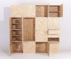 Rearangeable versatile storage space cabinet. - doorrood.