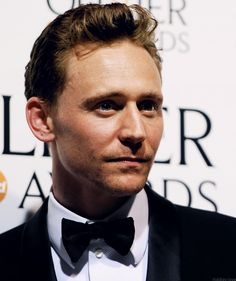 Tom Hiddleston at The Laurence Olivier Awards 2013. I think I swallowed my tongue.