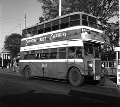 1952- A BEST double-decker bus in Bombay.They were introduced in 1937 to cope better with the growing traffic #Mumbai pic.twitter.com/7w8k6dwaf3