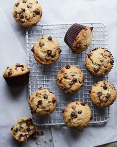 Chocolate Chip Muffins von www.whatsgabycook … (Was ist Gaby Cooking) - Muffins Cooking Chocolate, Best Chocolate, Chocolate Recipes, No Bake Desserts, Dessert Recipes, Whats Gaby Cooking, Chocolate Chip Muffins, Bakery Recipes, How To Cook Steak