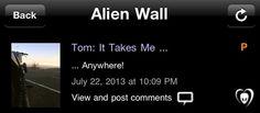 Tom: ele me leva  ...Em qualquer lugar!
