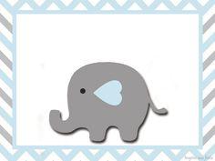 Elefante Bebé en Celeste y Gris: Invitaciones y Etiquetas para Candy Bar para Imprimir Gratis. Elephant Theme, Cute Elephant, Baby Stickers, Baby Boy Rooms, Baby Boy Shower, Christening, Party Themes, Banner, Kids Rugs