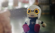 Toyota's mini robot can be your tiny cute life partner | TheTechNews