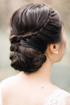 braided updo | Tetiana Photography | Glamour & Grace