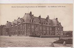 Grignon - CPA-78-Yvelines- Ecole Nationale d'Agriculture de GRIGNON- Le Château côté sud-