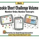Your students will love practicing math skills on a cookie sheet!  Cookie Sheet Activities Volume 2 contains 3 early math activities designed to be...