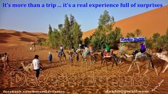 It's more than a trip, it's a real experience full of surprise
