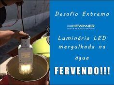 Iluminação Publica LED - HPWINNER em condições extremas de uso