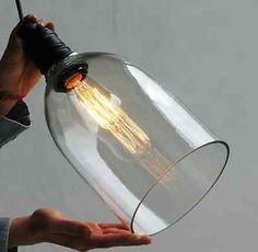 DIY-Crystal-Clear-Glass-Chandelier-Ceiling-Pendant-Lamp-Light-Vintage-Home-Decor