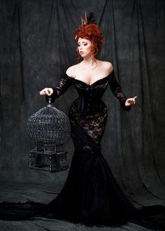 vampire-lovesong: Burlesque Fantasy by *Stephanie-van-Rijn
