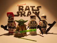 Lego Star Wars minifigures - Clone Custom Troopers - AMBUSH Series 1 Episode 1