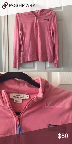 Vineyard Vines Shep Shirt Pink Shep Shirt, only worn a few times Vineyard Vines Tops Sweatshirts & Hoodies