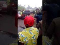 Drama: Masquerades And Lord's Chosen Faithfuls Clash In Public (Video)