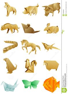 figures-animals-origami-set-white-background-isolated-vector-available-30668601.jpg (938×1300)