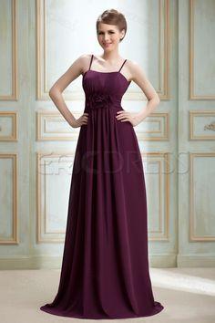 Graceful Flower Empire Waist Spaghetti Straps Floor-Length Nadya'ss Bridesmaid Dress Affordable Bridesmaid Dresses- ericdress.com 3821543